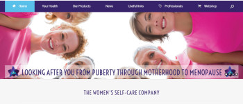 Purple Orchid Pharma website