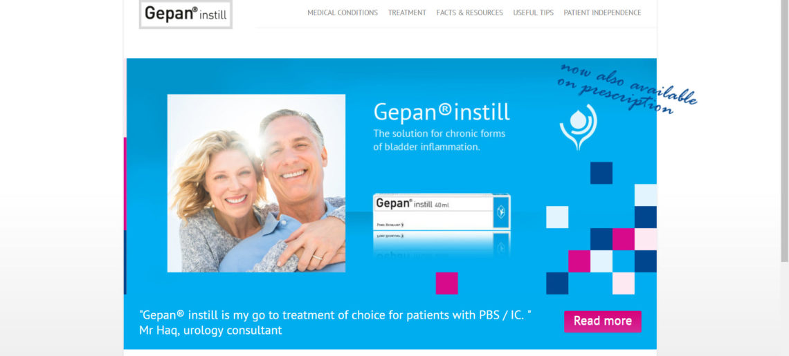 Gepan Instill Website